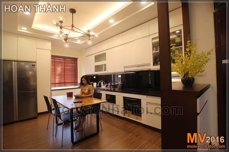 Cải tạo nội thất chung cư Việt Hưng