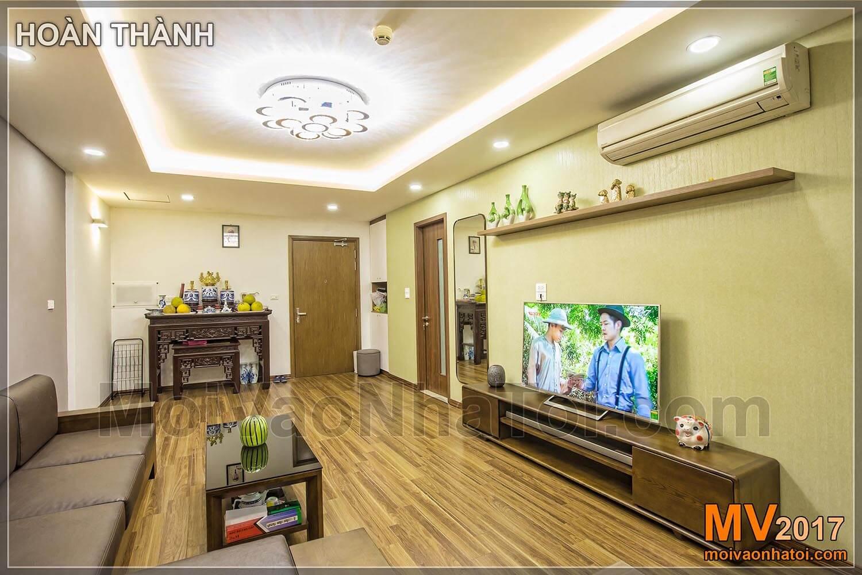 Phòng Khách chung cư T&T RIVERVIEW Vĩnh Hưng