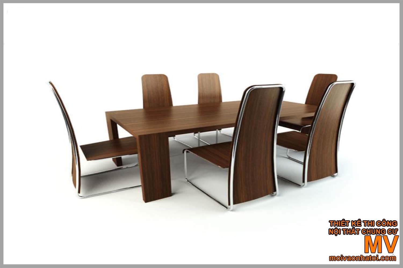 nội thất bàn ăn chung cư