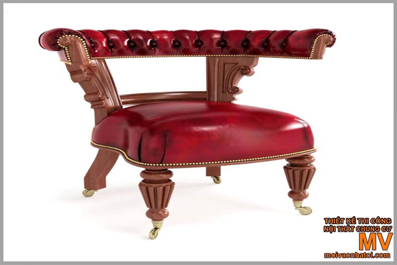sofa đơn - nội thất cổ điển