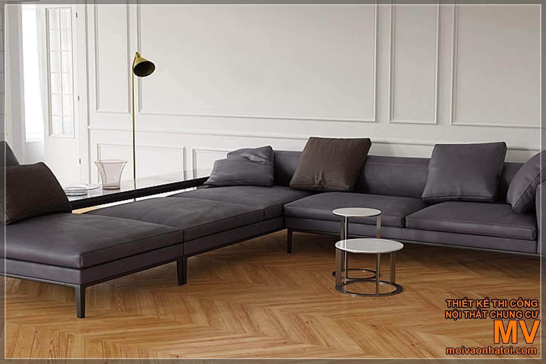 các mẫu ghế sofa hiện đại, đơn giản dành cho nhà tân cổ điển