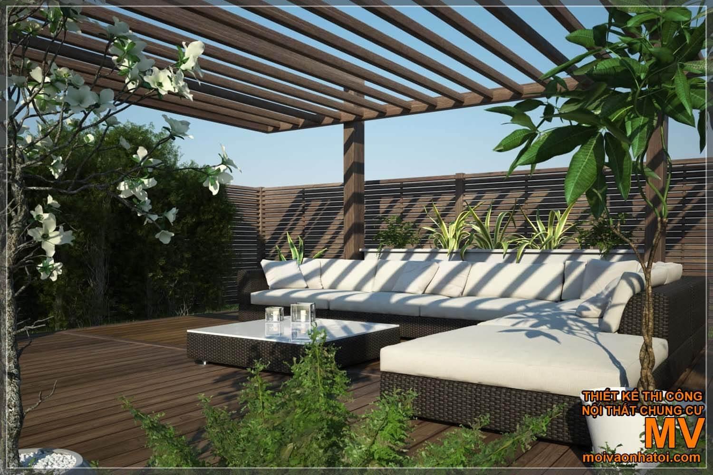 thiết kế sân vườn, tiểu cảnh