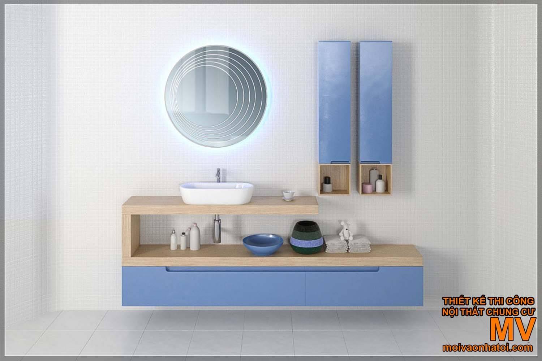 lavabo rửa mặt, thiết kế nhà tắm đẹp hiện đại