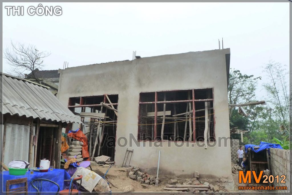 Villa construction process
