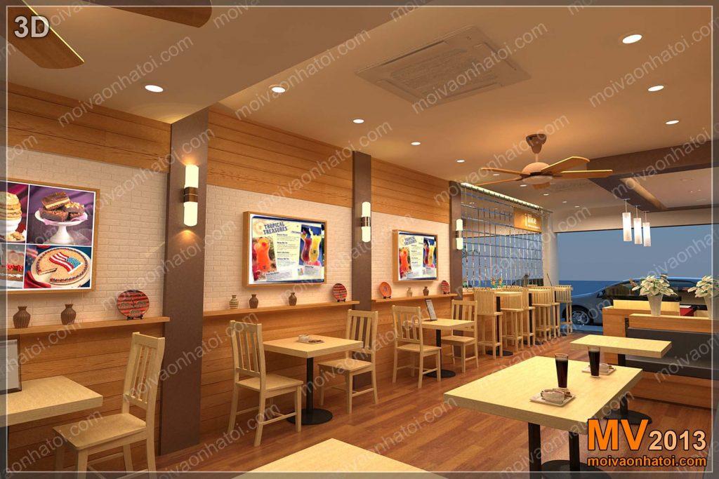 私が好きなレストランのデザイン