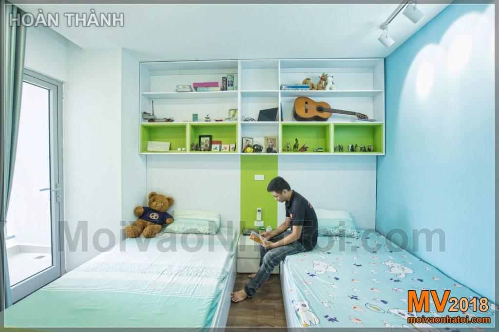 Interior design bedroom apartment