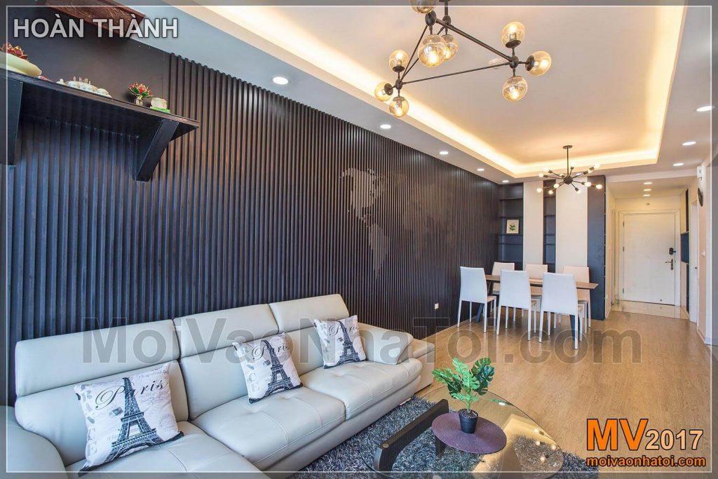 Thiết kế nội thất chung cư phong cách Hàn Quốc hướng đến sự đơn giản