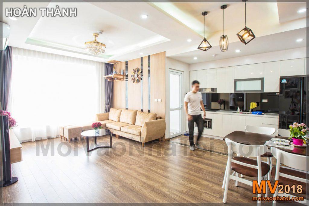 Thiết kế nội thất chung cư theo phong cách Hàn Quốc hướng đến sự thông thoáng