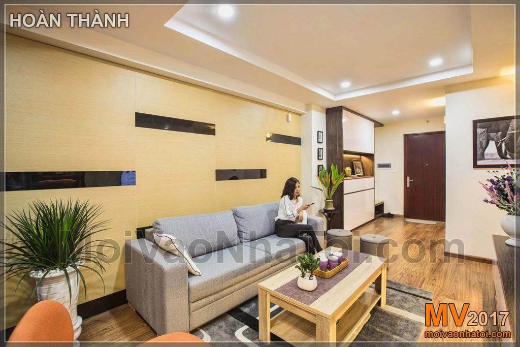 Thiết kế nội thất căn hộ mang thien nhiên vào không gian sống