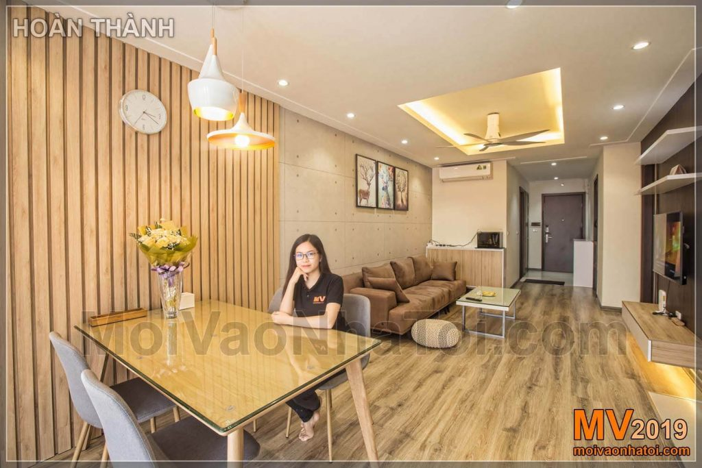 Vị trí thiết kế nội thất chung cư theo phong thủy