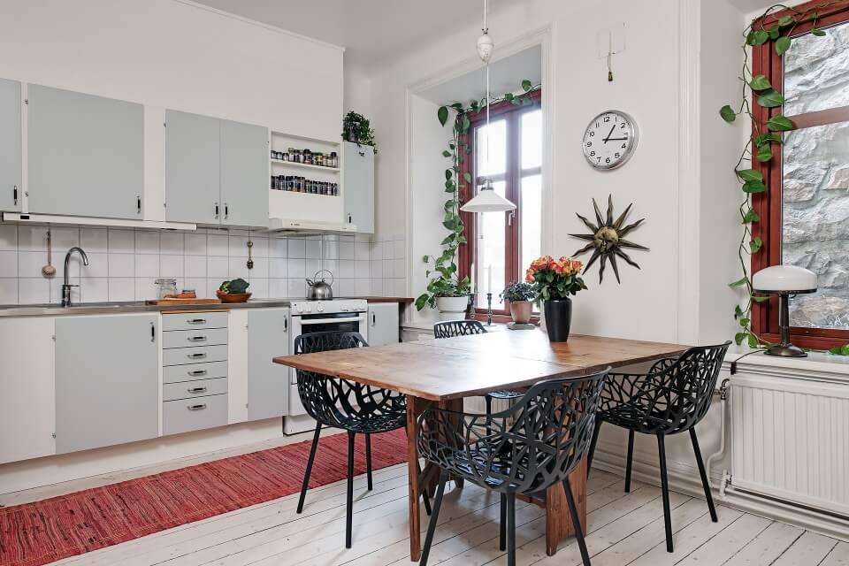 cải tạo căn hộ cũ phong cách tối giản, hiện đại Bắc Âu
