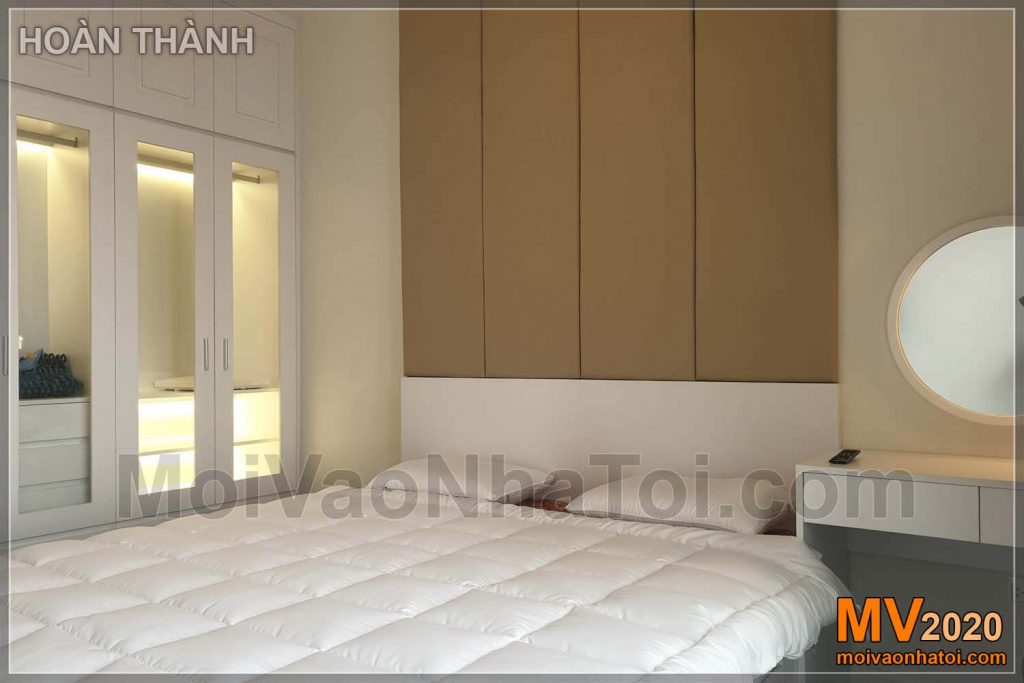 Master bedroom interior apartment Imperia Sky Garden