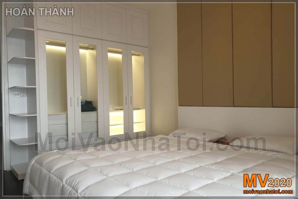 Imperia Sky Garden apartment interior wardrobe