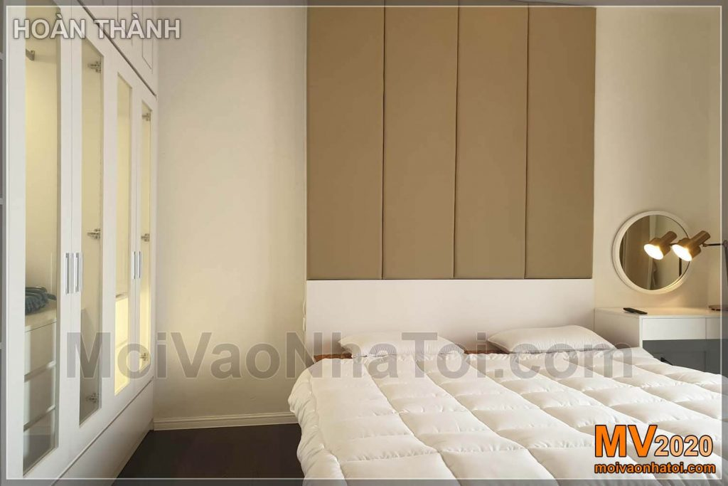 Large bedroom interior apartment Imperia Sky Garden