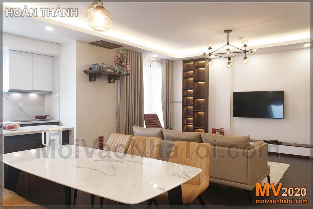 Interior of Imperia Sky Garden apartment