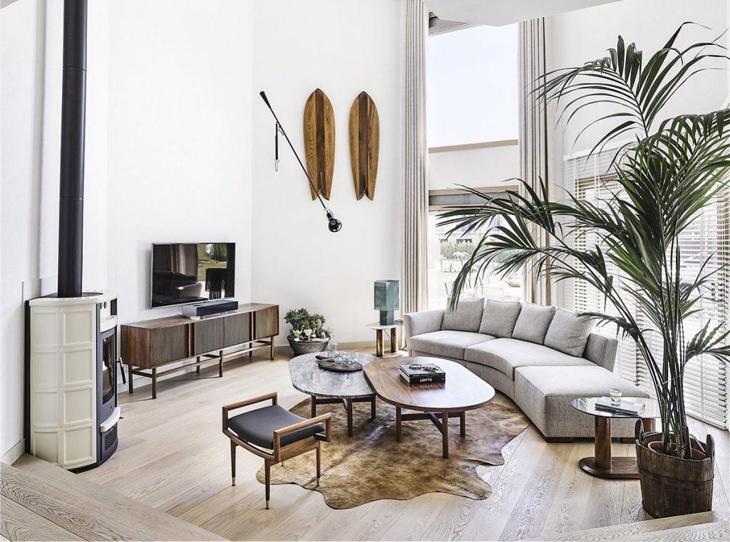 Tổng quan căn hộ mang phong cách Scandinavian
