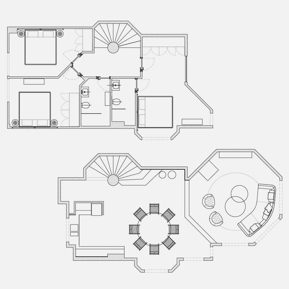 Mô hình thiết kế của căn hộ mang phong cách Bắc Âu