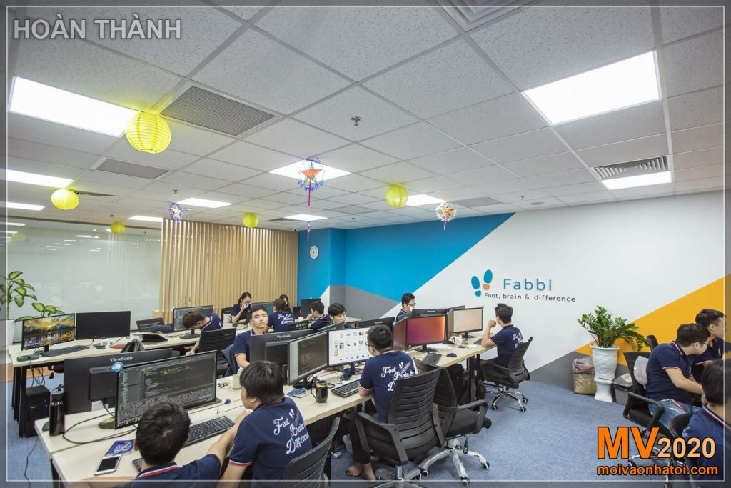 Design and construction of company office furniture