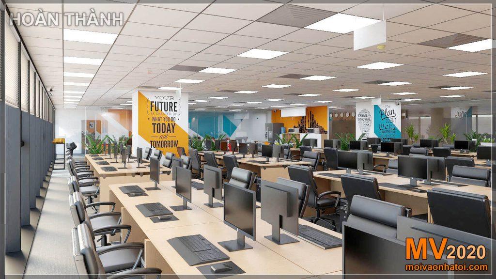 Projeto e construção de móveis de escritório para grandes empresas