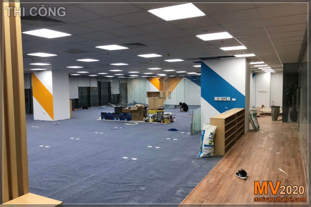 Construction of office furniture