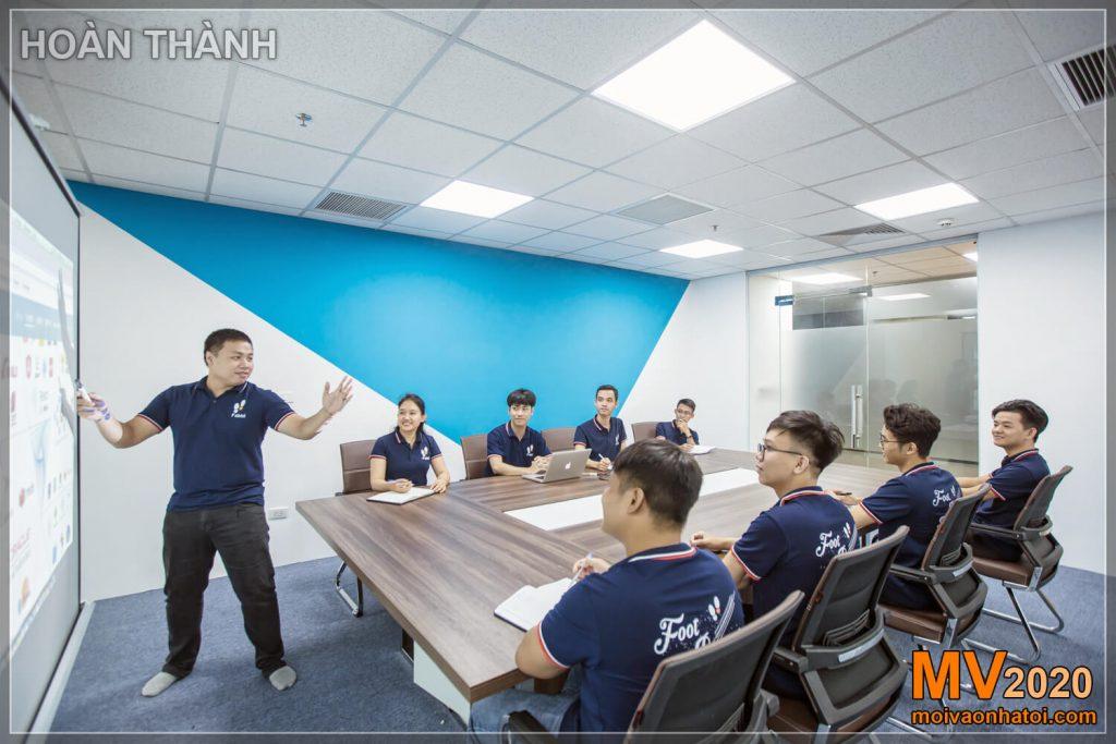 Reunião da empresa