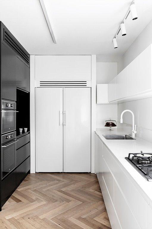 Nội thất phòng bếp mang đậm phong cách hiện đại