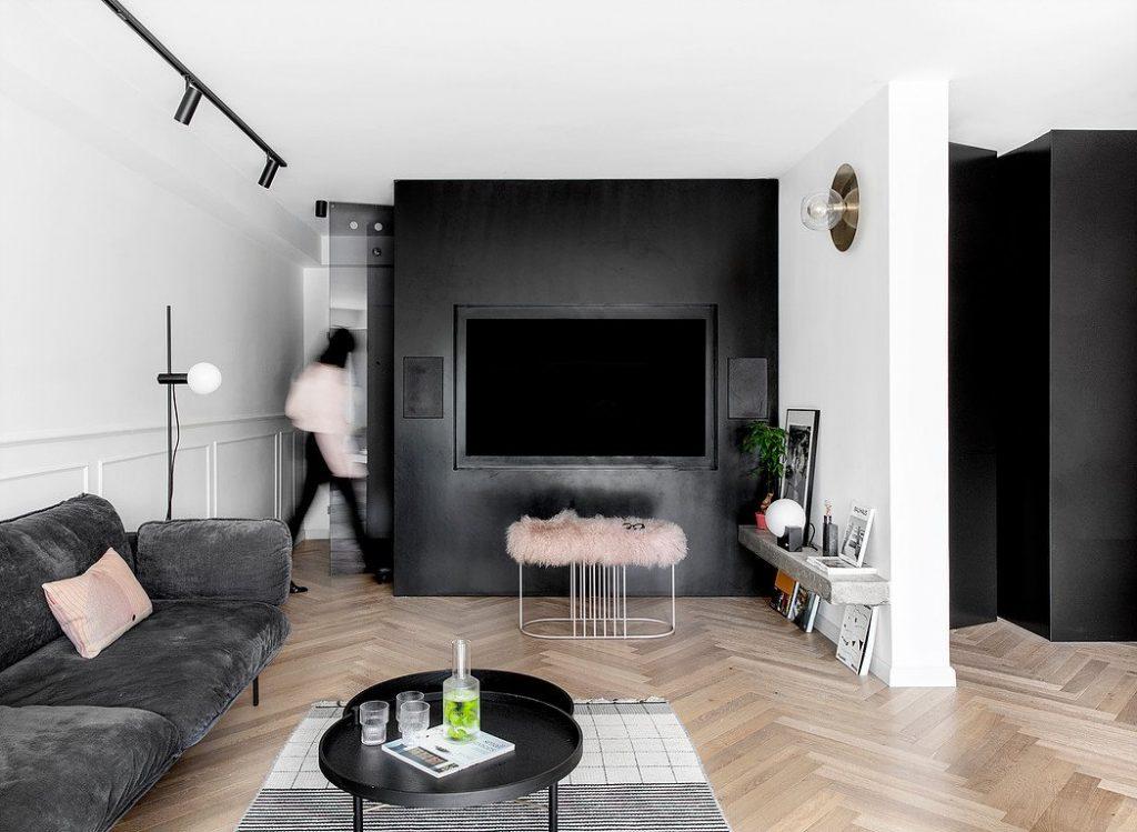 Nội thất phòng khách mang phong cách hiện đại