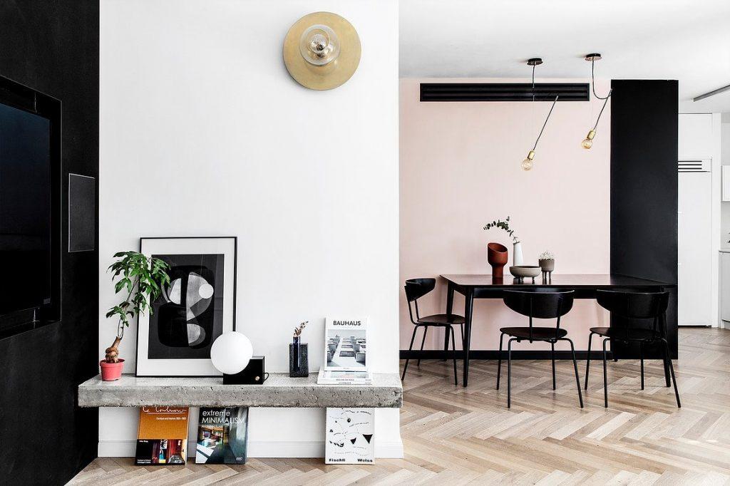 Kệ đựng đồ trang trí có thiết kế tối giản mà mang phong cách hiện đại