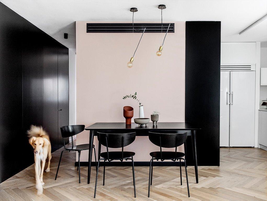 Bộ bàn ăn giản đơn trong phong cách hiện đại