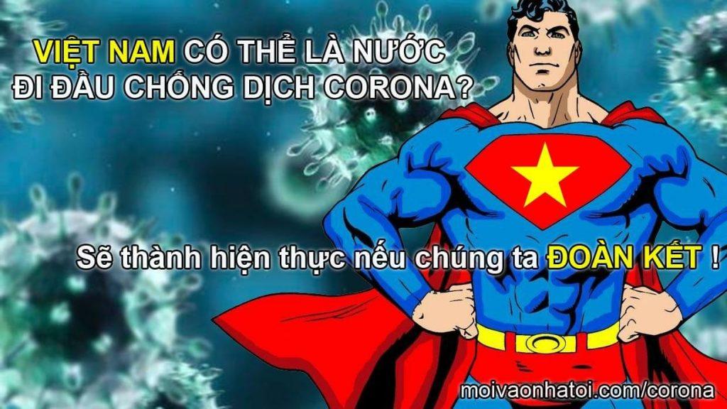 เวียดนามอยู่ในระดับแนวหน้าของไวรัสต่อต้านโคโรนาล่าสุด