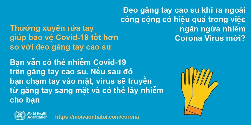 การสวมถุงมือลดจำนวนผู้ติดเชื้อ Corona Covid-19