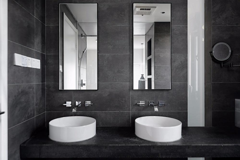 nhà tắm đẹp không gian mở