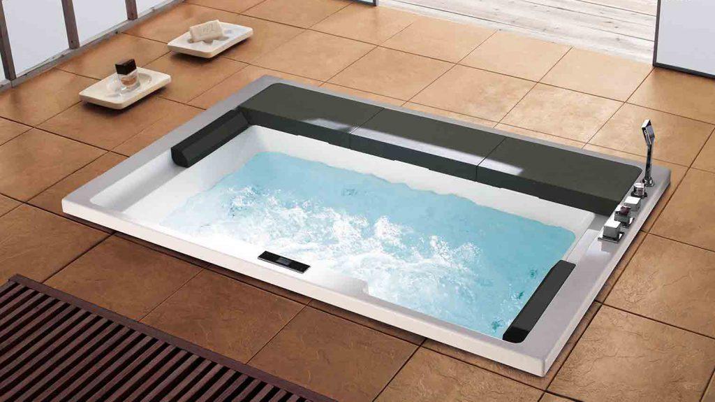 Bồn tắm xây âm sàn