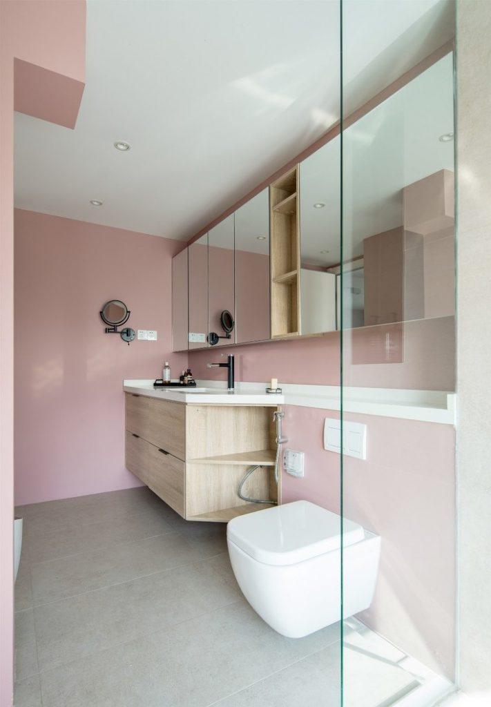 Tủ gương và các thiết bị vệ sinh thương hiệu châu âu - cải tạo chung cư cũ