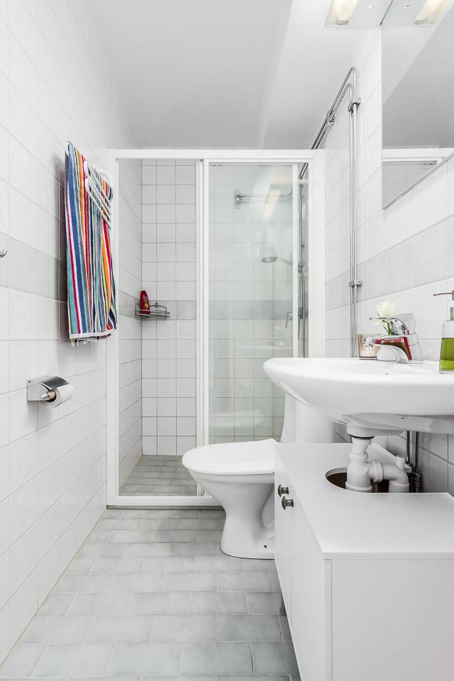Nhà vệ sinh đẹp với đầy đủ thiết bị vệ sinh