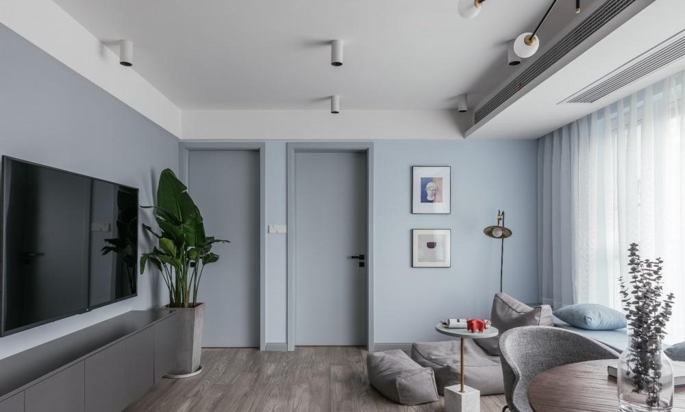 Phòng khách của căn hộ - thiết kế nội thất chung cư nhỏ