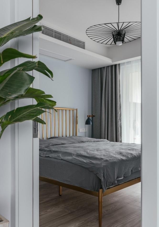 Màu sắc phòng ngủ của căn hộ