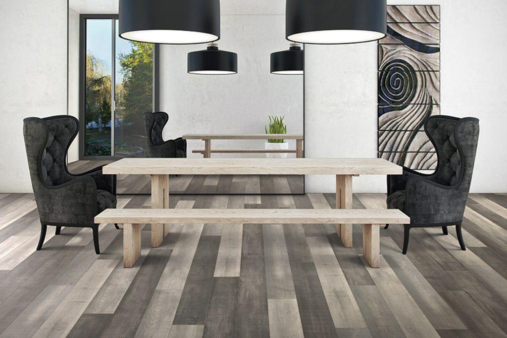 Sàn gỗ công nghiệp tông ghi