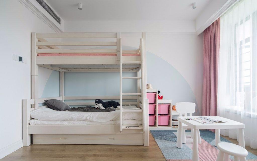 Phòng ngủ cho bé gái đẹp
