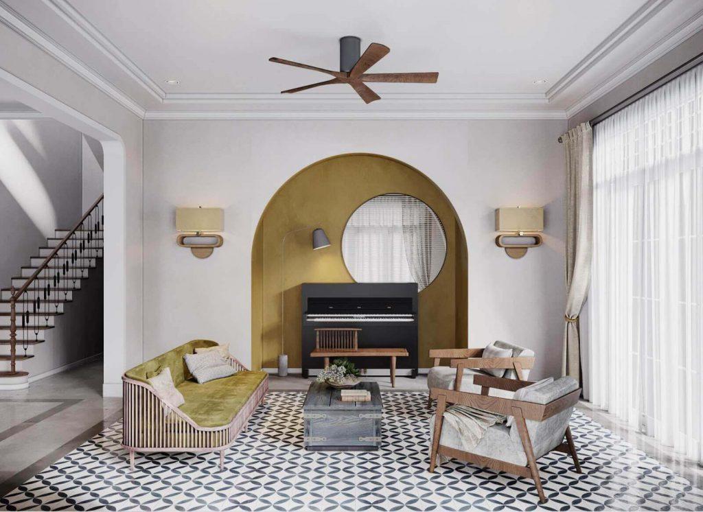 Мебель для гостиной в стиле Индокитай
