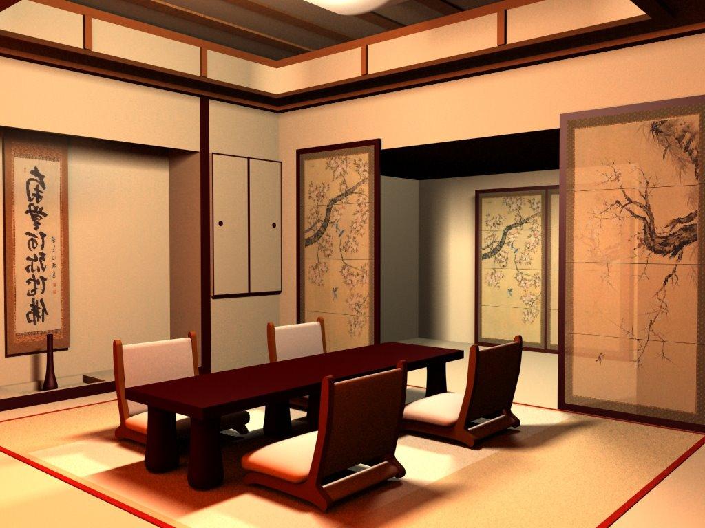 Phòng trà phong cách Nhật Bản