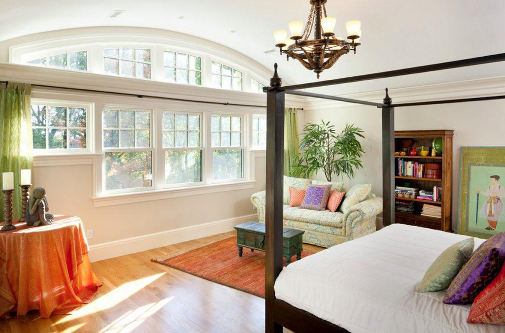 cửa sổ tại phòng ngủ