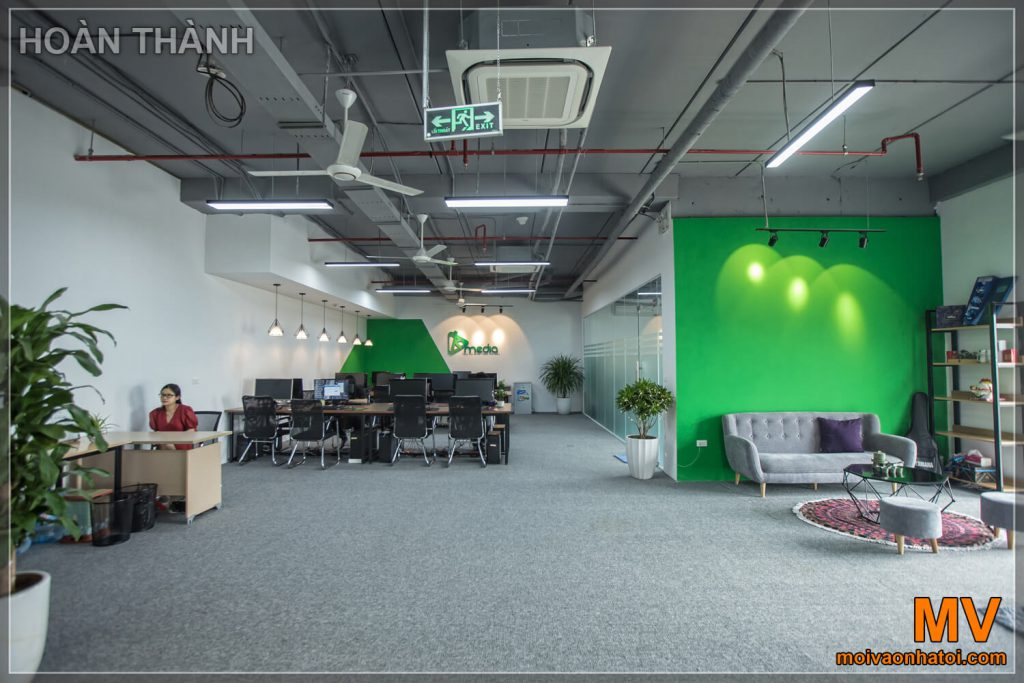 150m2 office furniture construction completed