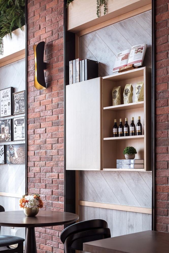 armário de móveis de design aberto