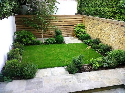 khu vườn xanh mát giúp giảm nhiệt vào nhà