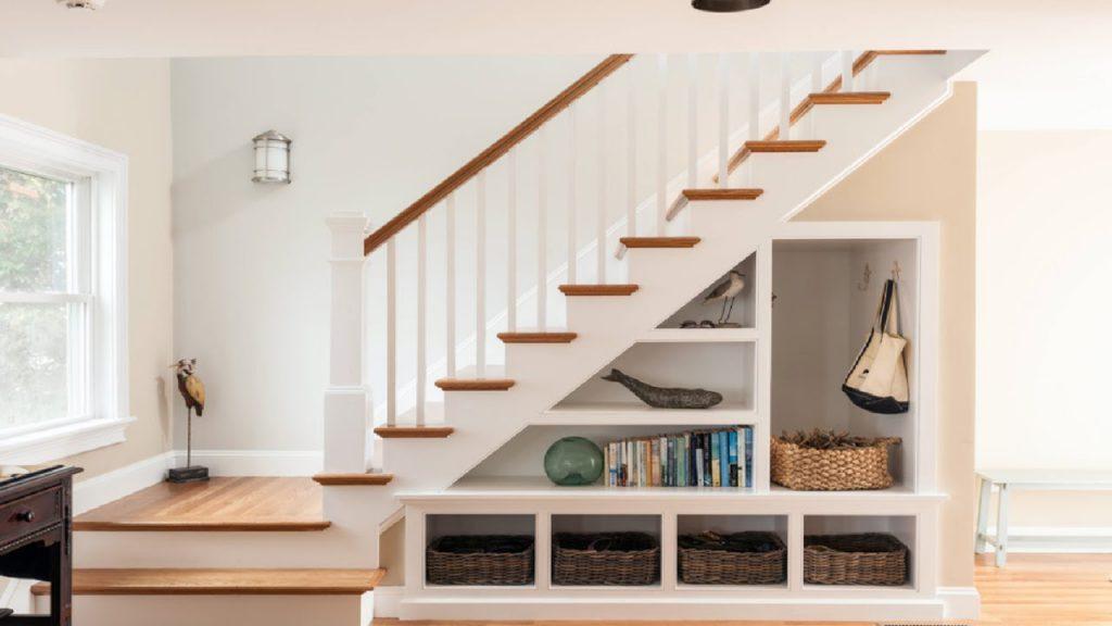 bố trí cầu thang để giảm nhiệt độ trong nhà