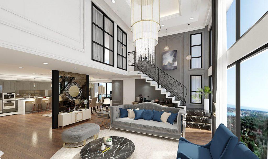Dvoupodlažní byt