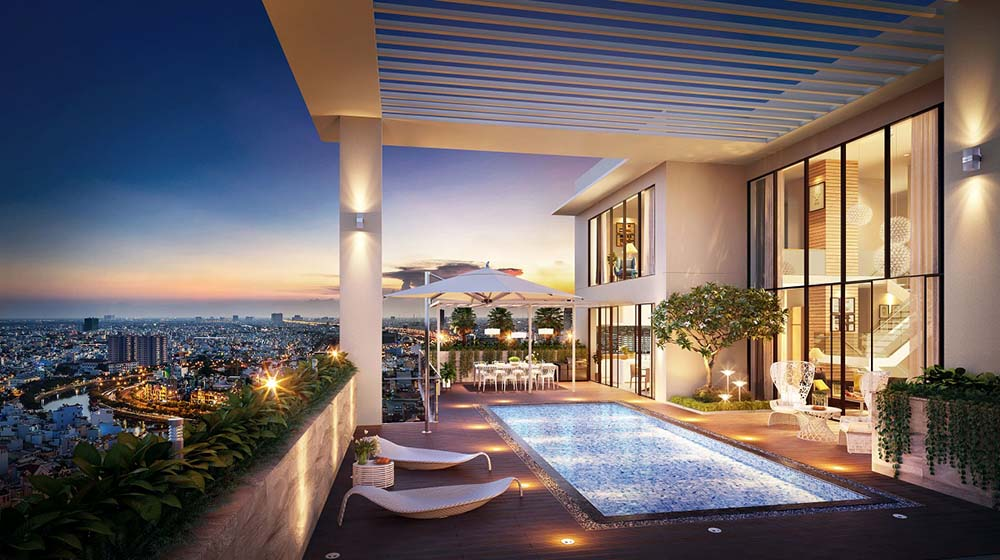 appartamento sky villa