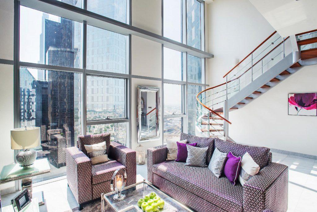 duplex apartment living room furniture