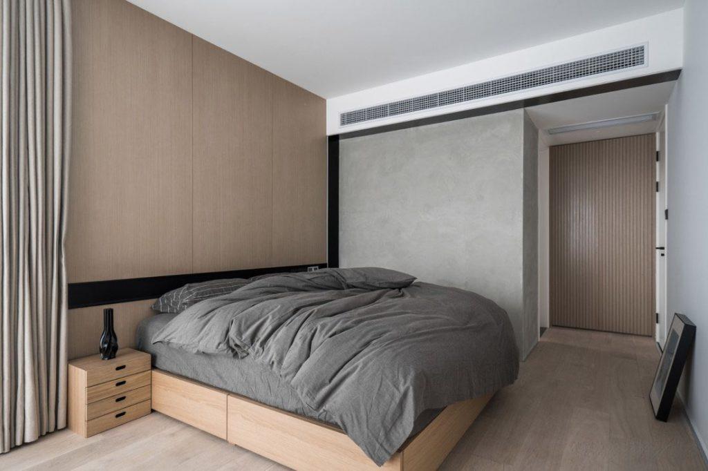 WÄHLEN SIE EIN MODERNES INNENRAUM FÜR EINE 100 m² große WOHNUNG MIT ZWEI SCHLAFZIMMERN